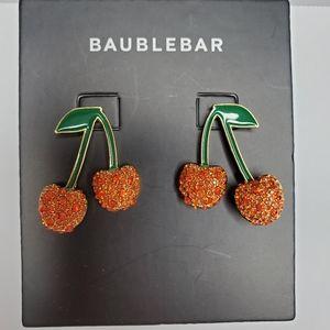 NEW BaubleBar Cherry Drop Earrings
